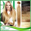 """18 """" 20 """" 22 """" выдвижение волос кератина мега необработанные перуанский девственница прямые волосы бесплатная доставка продавать ногтей подсказка"""