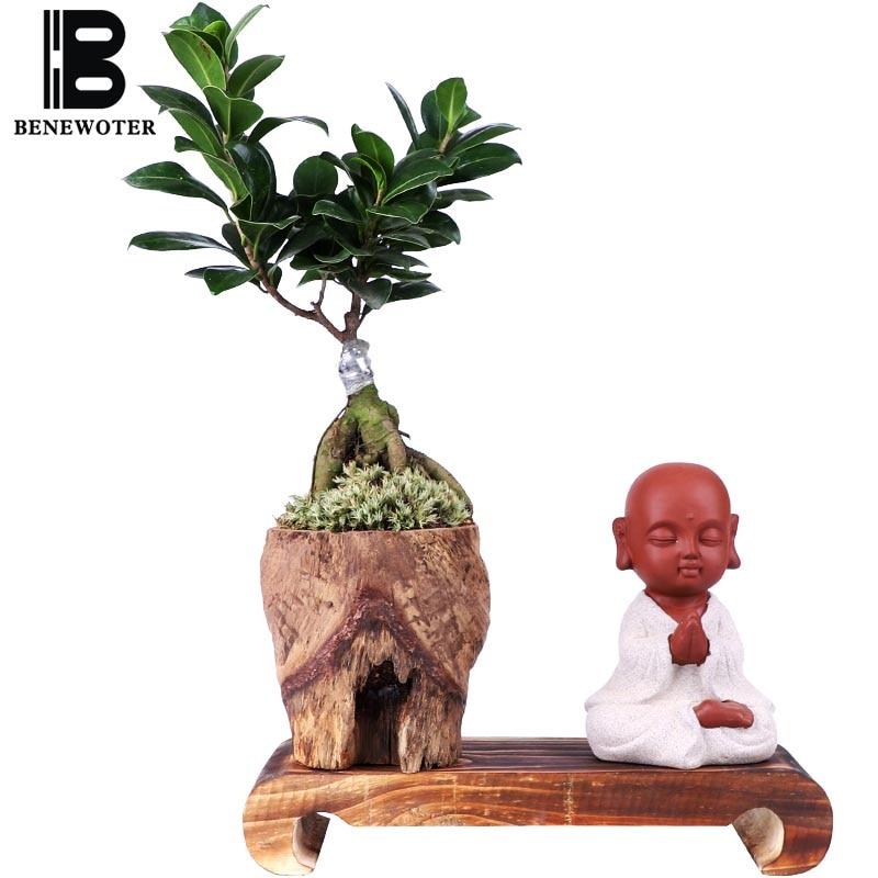 Creative maison bureau plante bonsaï petit moine plantes Pots pour fleurs jardin jardinières Style chinois Zen bureau Patio décoration