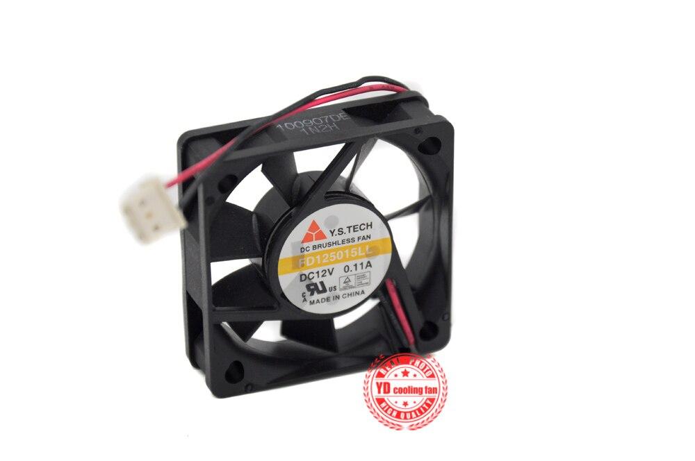 new 5015 silent fan FD125015LL 12V 0.11A 5 cm cooling fan