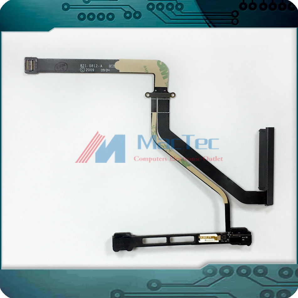 ORI NEW 821-0812-A 922-9034 for Apple Macbook Pro 15 A1286 Hard Drive SATA Flex Cable w/ IR Sleep Sensor Bracket 2009-2011 Year