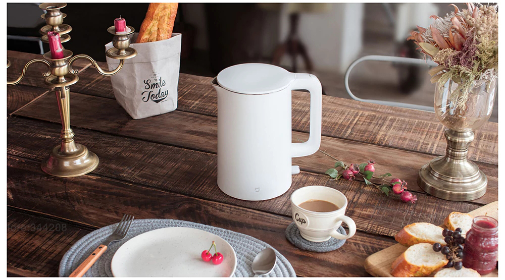 New For Xiaomi Original Electric kettle fast boiling stainless teapot Water Kettle Mi home 1.5L Insulation White 2018 From Mijia 700w portable food grade plasctic electric kettle thermal insulation teapot 0 5l home travel water boiler seperated underpan