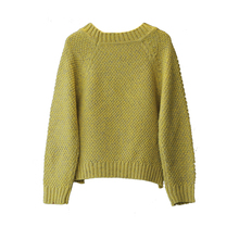 2016 Temperamental Solid Sweater For Girls With Size Zipper Baby Girl Sweaters Toddler Pull Fille Hiver Warm Knitted Pullover