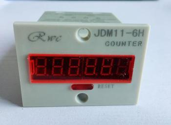 6 Digit Display Electronic Digital Counter JDM11-6H industrial counter Power failure memory 1 piece tmc7cx counter 6 digits tmc7cx cwp preset counter electronic counter