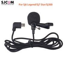 100% ursprüngliche SJCAM Zubehör Externes Mikrofon MIC für SJCAM SJ6 LEGENDE/SJ7 Stern/SJ360 Sport Mini Kamera