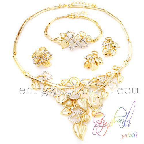 SHIPPING FREE imitation jewellery in dubai 18K gold plated jewelry