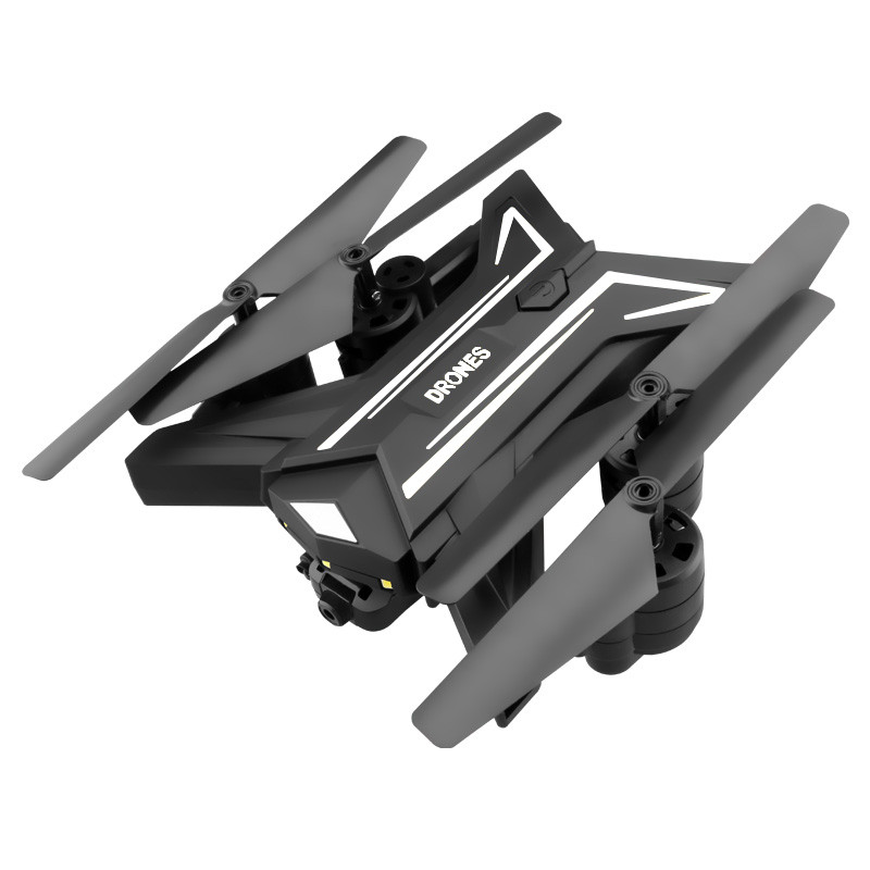 Amazig Foldable Ky601 Drone With 0.3 Million Pixels Hd Camera Four-axis Folding Uav Fpv Rc quadcopter dron fpv x uav talon uav 1720mm fpv plane gray white version flying glider epo modle rc model airplane