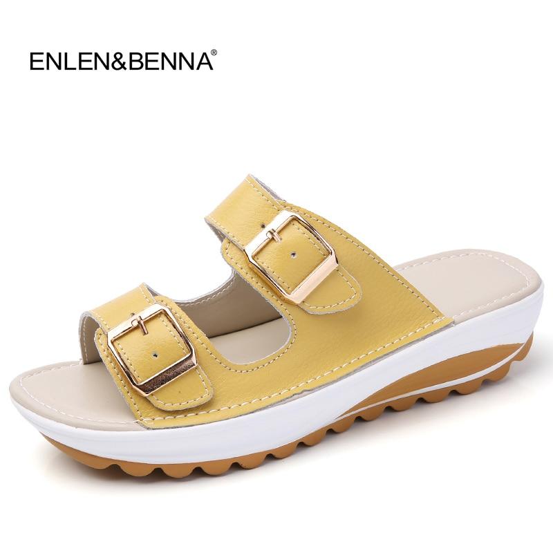 2017 καλοκαιρινές γυναίκες σανδάλια παπουτσιών παπούτσια αναψυχής ολισθηρό στρογγυλό toe άνετα σανδάλια σαγιονάρες γυναικεία παπούτσια σανδάλι στην παραλία