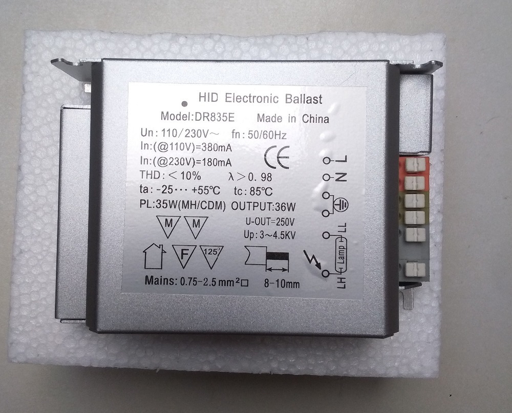 Photocell Schematic 230v Electrical Wiring Diagram Hid Fixture Ge Metal Halide Lamps Fixtures Installation Simple Circuit