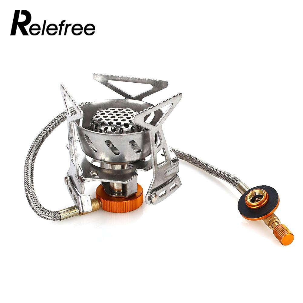 Split Type Hiking Camping Stove Cook Portable Portable Stove Camp Backpacking Stove Compact