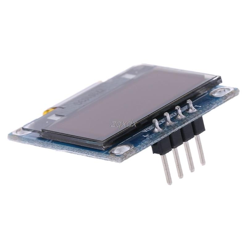 0.96 inch IIC Serial White OLED Display Module 128X64 I2C SSD1306 LCD Screen Board GND VCC SCL SDA 0.96 Oled I2C July Drop Ship