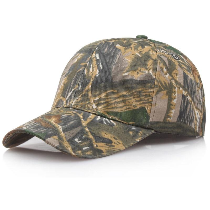 2018 fashion New Camo Cap Jungle Army Tactical Caps for Men Baseball Cap Camouflage Snapback Bone Sport Hats Adult women