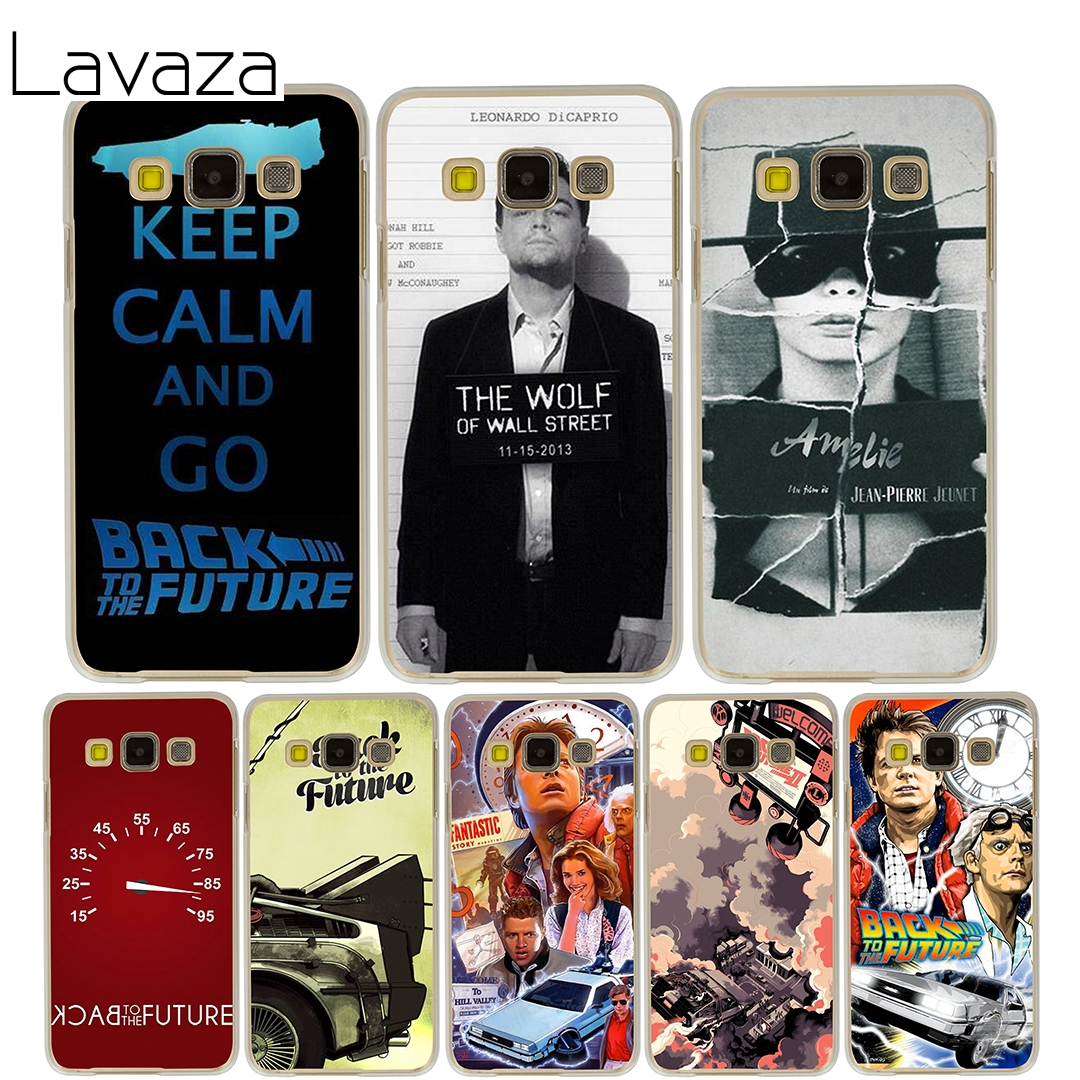 Lavaza Back To The Future boy Hard Case for Samsung Galaxy J5 J7 J3 2017 J1 2016 2015 J2 Prime Pro Ace 2018