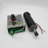 500 Watt high-speed luftgekühlten spindelmotor PCB graviermaschine spindel ER11 + gewidmet stromversorgung kann geschwindigkeit