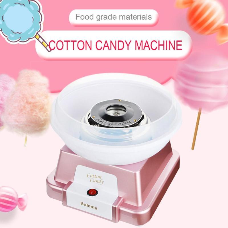 купить Home Mini Electric Automatic Sweet Cotton Candy Maker Sugar Floss DIY Machine Kids Children Gift Household Cotton Candy Maker по цене 4553.79 рублей