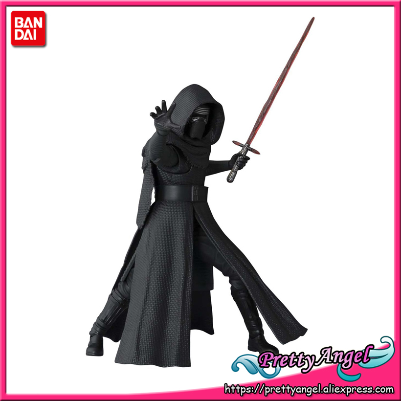 PrettyAngel - Genuine Bandai Tamashii Nations S.H.Figuarts Star Wars: The Force Awakens Kylo Ren Action Figure saintgi saintgi star wars the force awakens kylo ren action figure pvc 16cm model toys kids gifts collection free shipping