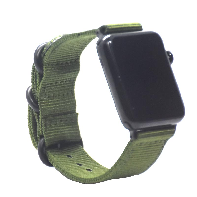 New product Hot sale Nylon strap for Apple Watch Band Series 3/2/1 sport leather bracelet 42mm 38mm strap for iwatch band green eastar genuine leather for iwatch bracelet apple watch band 42mm 38mm sport bracelet for series 1