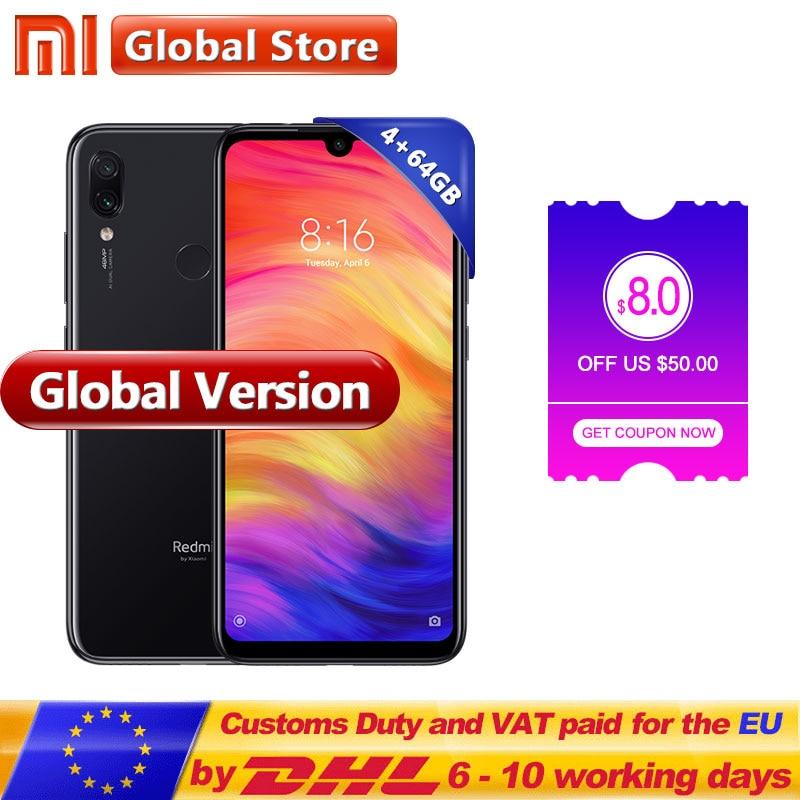 Global Version Xiaomi Redmi Note 7 4GB 64GB Mobile Phone Snapdragon