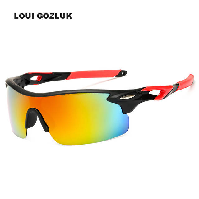 25a8338c21 placeholder Outdoor Sports Windproof Sunglasses Man Night Vision Polarized  Sunglases Big Surround Eyewear With Non-Slip