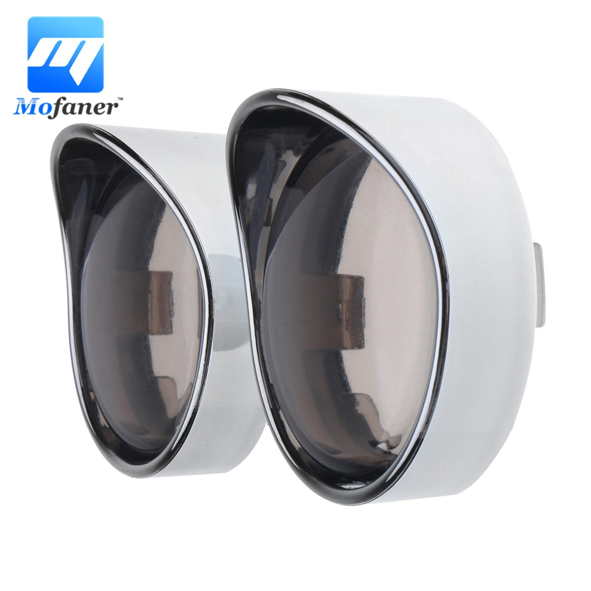 Mofaner 2Pieces Chrome Turn Signal Visor Ring Smoked Lens Cover Cap For Harley XL883 XL1200Mofaner 2Pieces Chrome Turn Signal Visor Ring Smoked Lens Cover Cap For Harley XL883 XL1200