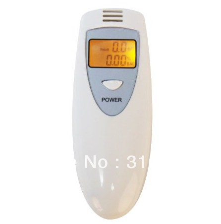 Best LCD Display Semiconductor Alcohol Sensor Breath Alcohol Tester Breathalyzer ,Free shipping