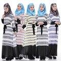 Hot Nova Moda das mulheres Muçulmanas vestidos chiffon vestido vestido de vestes de Hui Oriente médio Arábia gawn Los musulmanes la falda musulmans