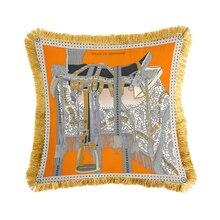 Velvet pillow soft cushion cover seat car home sofa bed decorative printing pillowcase Cushion Cover Pillow Case