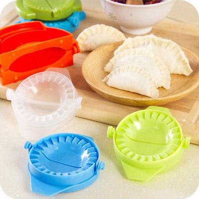 DIY клецками Инструменты простой клецки инструмент Jiaozi чайник устройства 1 шт. тесто Пресс пельмени пирог Кухня Инструменты случайным цвет
