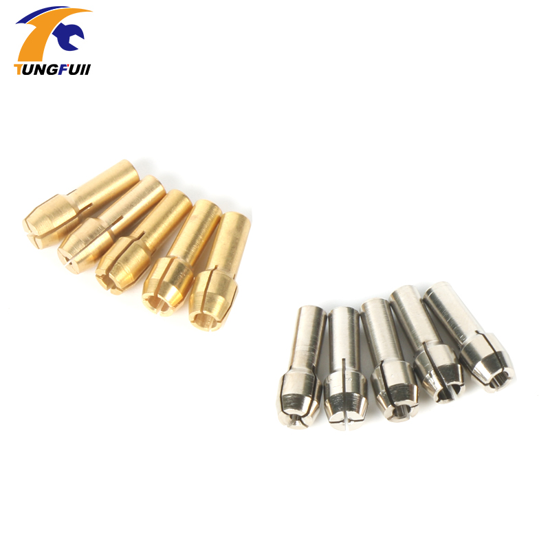 Tungfull Stainless Steel Chuck Rotary grinders polishing copper engraving machine chuck Dremel accessories  jade carving copper manual stainless steel plate engraving machine