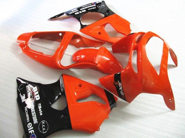 Red Black Fairings For Kawasaki Ninja ZX9R 2003 2002 02 03 High Quality Fairing Kit 7gifts XX90
