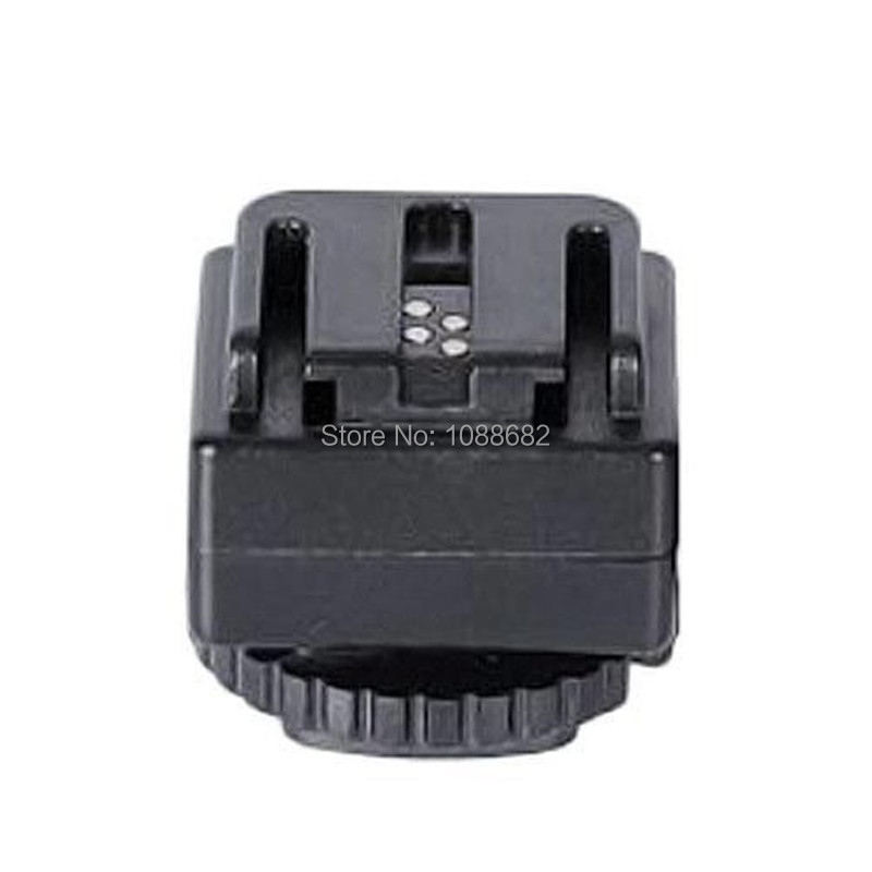 Flash Hot Shoe Adapter for Canon for Nikon Camera Converte for Sony Flash with PC Socket C-S1