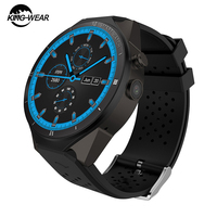 KingWear KW88 Pro 3G GPS WIFI Smart Watch Phone Android 7.0 MTK6580 Quad Core 1GB 16GB 2.0 MP Camera Video Call Sport for Men