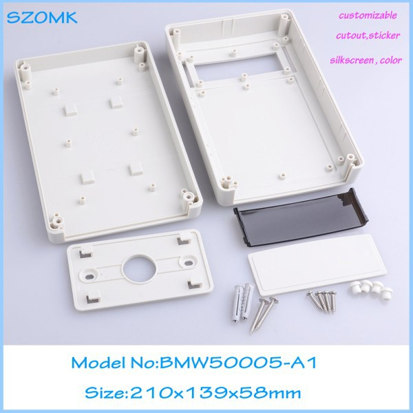 10 pcs lot sanhe enclosure custom box display box plastic tool abs housing Diy wall mounting