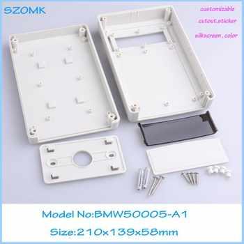 10 pcs/lot sanhe enclosure custom box display box plastic tool abs housing Diy  wall mounting enclosure 210x139x58 mm - DISCOUNT ITEM  0% OFF All Category