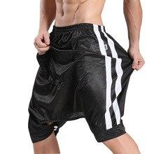 Shorts Sweatpants Open-Crotch Dance Homme New-Fashion Hip-Hop JQK Cool Masculino Loose