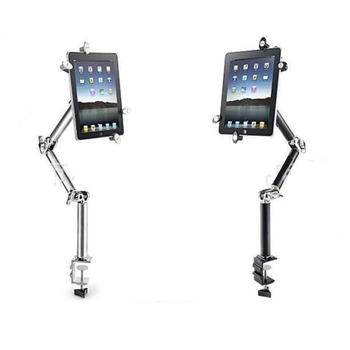 "88CM Foldable Holder For Mobile iPad/ipad air mini Tablet PC 7"" 8"" 10.1"" Metal Multi-functional Mount Stand Car/Bed/Table desk"