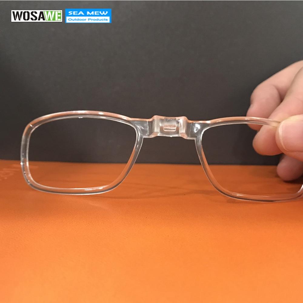 WOSAWE Inner Myopi Ramme Til Myopic Lins Cykling Solbriller Goggles Eyewear