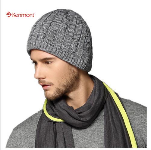 Caps sombreros mujer hombre Unisex de punto esquí gorros de lana con alta calidad para vacaciones regalo - 1597