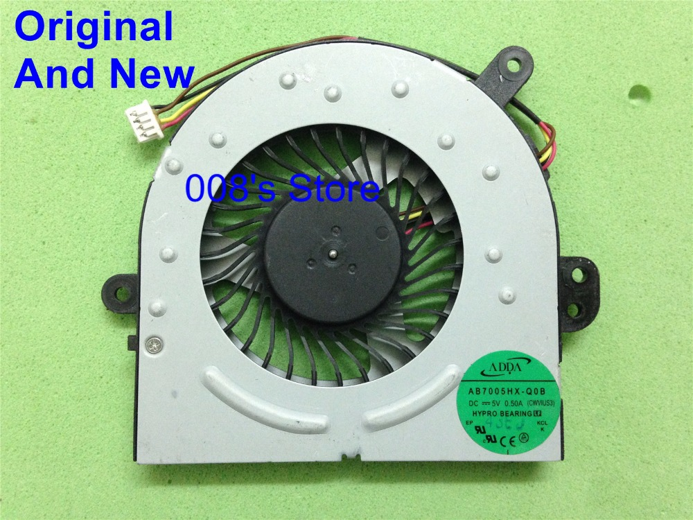 New Notebook CPU Cooling Cooler Fan Fit For Lenovo Ideapad S300 S400 S405 S310 S410 S415 For ADDA AB7005HX-Q0B Good