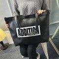 O novo saco de ombro das mulheres bolsas das senhoras de Alta Qualidade sacos de Grande-capacidade de Lazer pacote feminino bolsa feminina Sacos de um principal