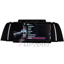 TOPNAVI Quad Core Android 4 4 Car GPS Navigation for F10 2011 2012 2013 For BMW