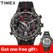 6783378cac62 2018 caliente Timex relojes inteligente cuarzo luminoso marea temperatura  brújula silicona 100 M impermeable deporte al