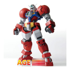 New 18cm Gundam Model DABAN Red AGE-1 Brave Type Titus Spot Action Figure Kids Assembling Toys Gifts Robot
