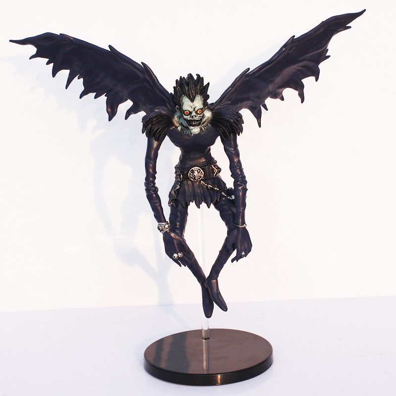 Retail 18CM Anime Death Note Deathnote Ryuuku PVC Action Figure Collection Model Toy Dolls Wholesale 2017 new death note l ryuuku ryuk pvc action figure anime collection model toy dolls 24cm