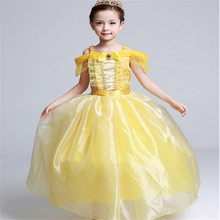 Girls Clothes Girls Cinderella Dresses Children Snow White Princess Dresses Rapunzel Aurora Kids Party Halloween Costume Clothes