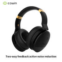 Cowin e8 HIFI Aktive Noise Cancelling Kopfhörer ANC Wireless Bluetooth Kopfhörer mit Mikrofon, Stereo Tiefe Bass Kopfhörer