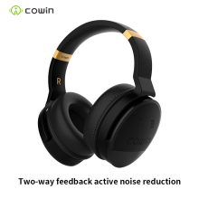 Cowin e8  HIFI Active Noise Cancelling Headphones ANC Wireless Bluetooth Earphones with Microphone, Stereo Deep Bass Headphones anc active noise cancelling headphones wired on ear foldable hifi earphones deep bass headset with microphone for mp3 computer