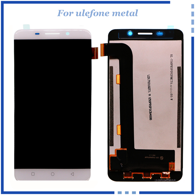 For Ulefone Metal LCD Display Touch Screen Digitizer Assembly Replacement Repair Accessories 100% Original LCD Free Tools