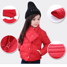 girls' duck down jacket 90% 2016 new fashion children ultra light down coat for boys & girls parkas kids Winter jackets outwear