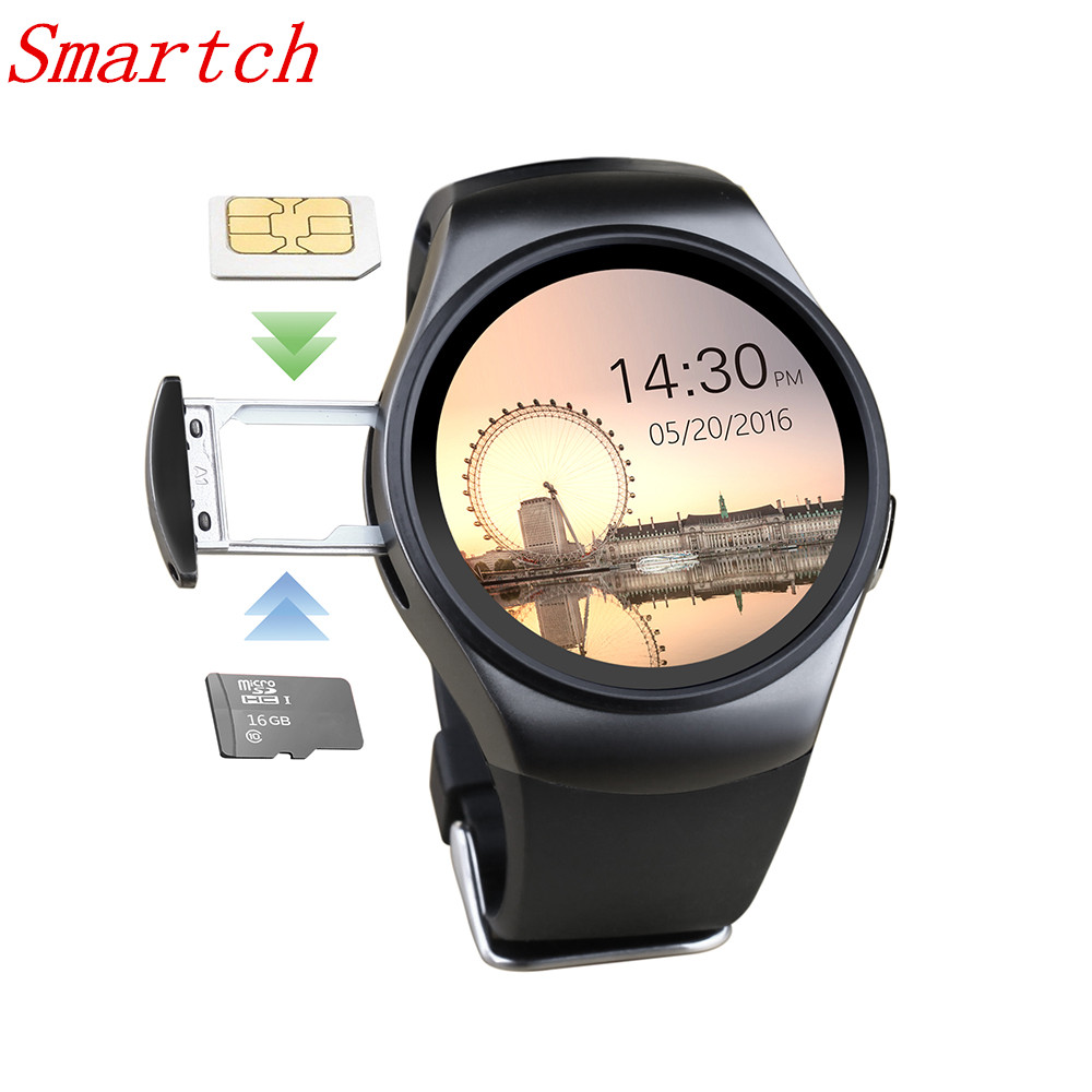 smartch kw18 smart watch with heart rate monitor montre connecter smartwatch for samsung gear s3