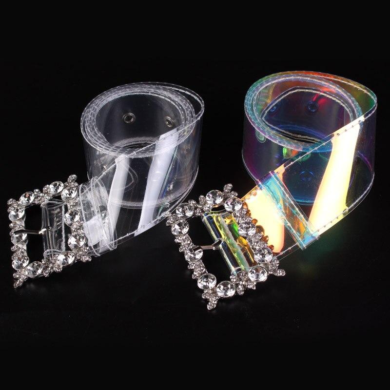 cc511523652 Detail Feedback Questions about 2018 Real Cinturon Hombre Gg Tactical Belt  New Transparent Color Diamond Inlaid Decorative Fashion Wild Women s  Plastic Belt ...
